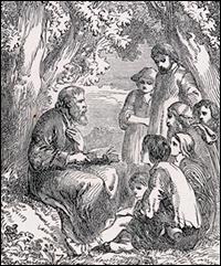 Peter Walso teaching Bible